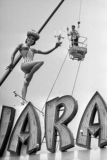 Liberace and Sahara Lady